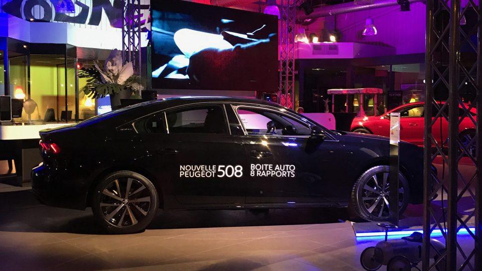 Présentation de la nouvelle Gamme 508 Peugeot - Son, Lumière, Décoration, Structure, Ecrans, Chauffage, Mobilier