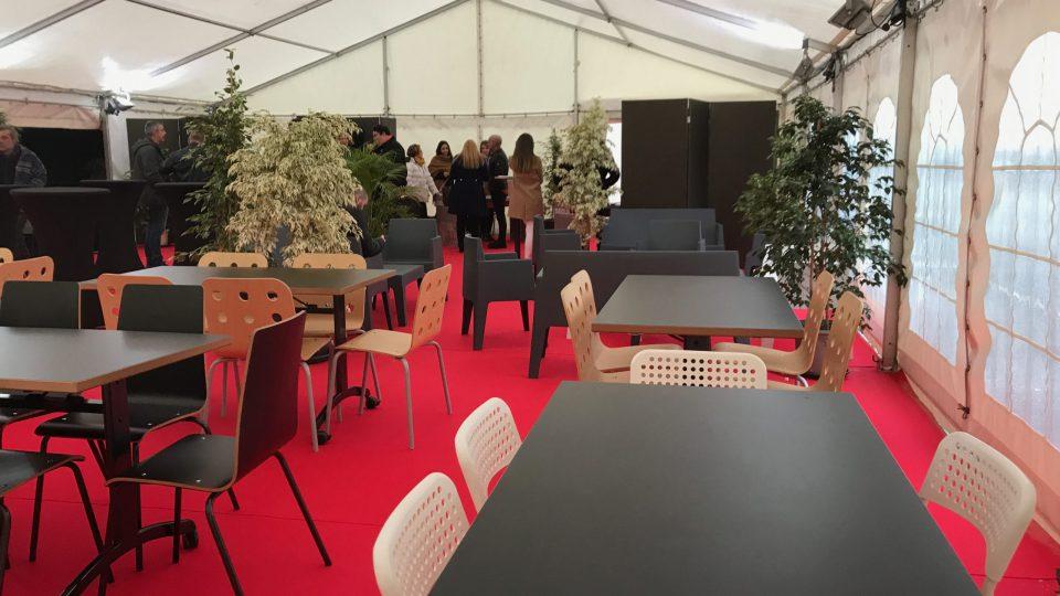 Inauguration du bâtiment de Formation - Seguin Duteriez / Europe Cheminées Randan - Tentes, Planchers, Eclairage, Mobilier, Décoration, Eclairage